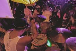 Wendell Garcia of Pupil (Jetsam Jam at Flotsam and Jetsam, Nov 2016)